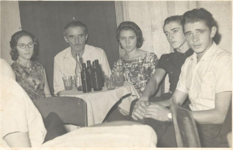 Valda, Ignácio, Terezinha, Ernesto e Waldomiro