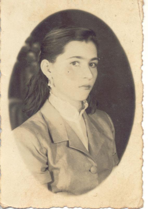 Margarida Ignacio Mattos em 1955